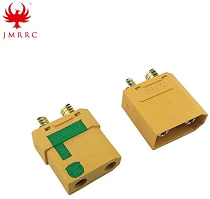 Parts & Accessories 5 Pairs Amass XT90-S Connector Anti-Spark Male Female Connector with Housing Sheath for Battery ESC and Charger Lead MR30 XT60 - (Color: XT90-S (5 Pairs), CN)