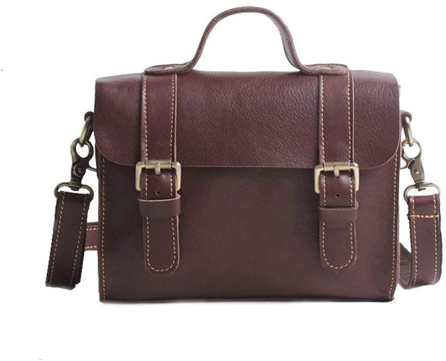 xianwei Trend Business Briefcase Leather Handbag Simple Casual Ladies Shoulder Messenger Bag Handbag