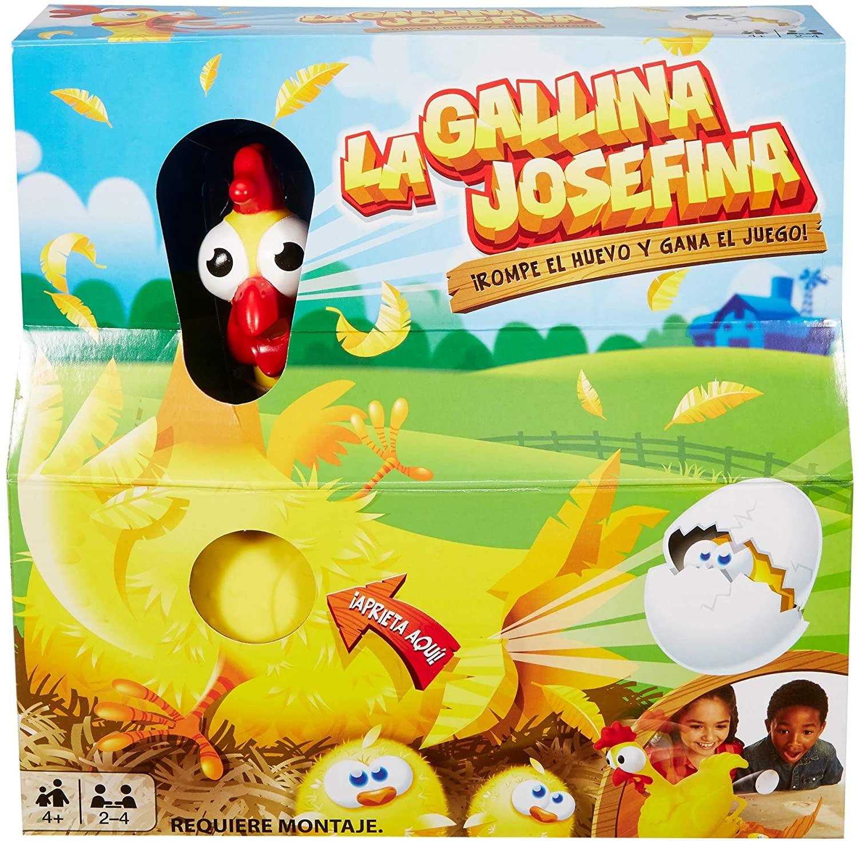 Mattel Games–The Chicken Josefina, Games Table for Children (Mattel frl14)