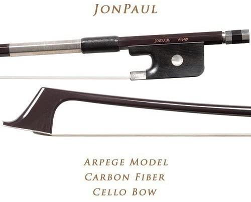 JonPaul Arpege Model Carbon Fiber 4/4 Cello Bow