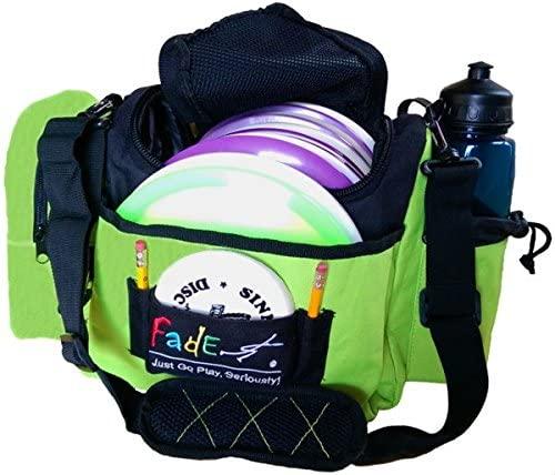 Fade Crunch Box Disc Golf Bag (Electric Lime, Medium)