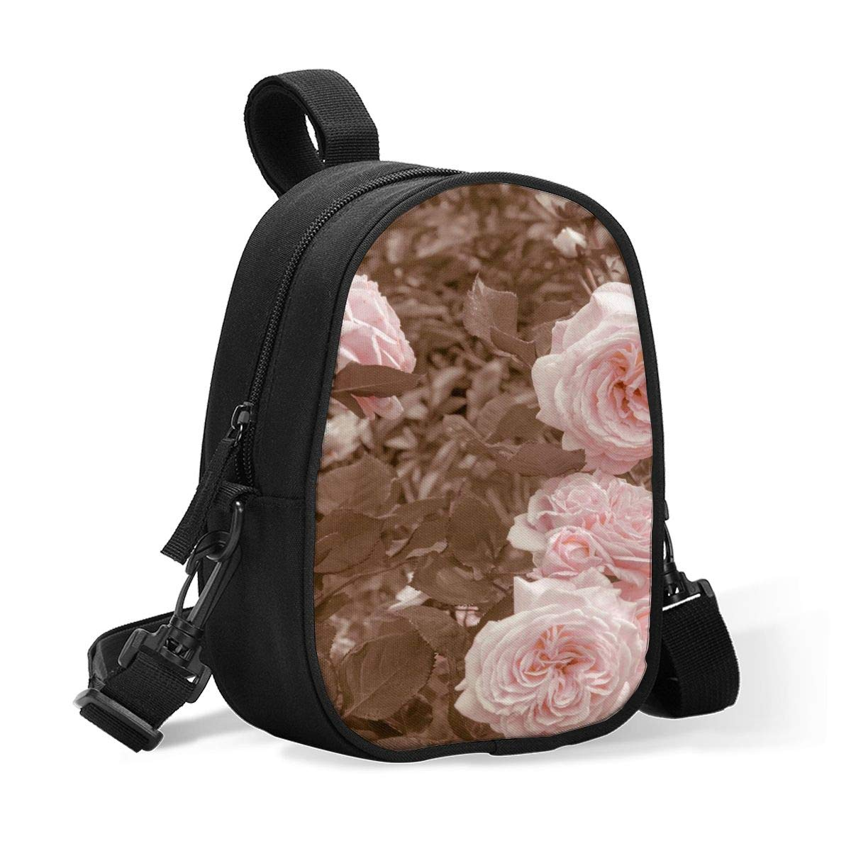 Insulated Baby Bottle Tote Bags for Travel Double Baby Bottle Warmer Or Cool Vintage English Roses Breastmilk Baby Bottle Cooler & Travel Bag, Easily Attaches to Stroller Or Diaper Bag
