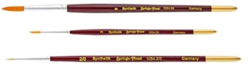 Springer Pinsel Watercolor Painting Brush with Toray, Pointed, Size 8