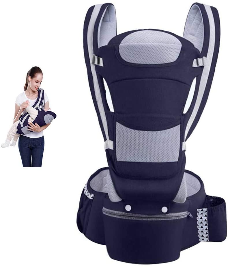 Thole Baby Carrier Sling Waist Stool Horizontal Front Holding Multi-Purpose Children Four Seasons Universal Holding Baby Belt