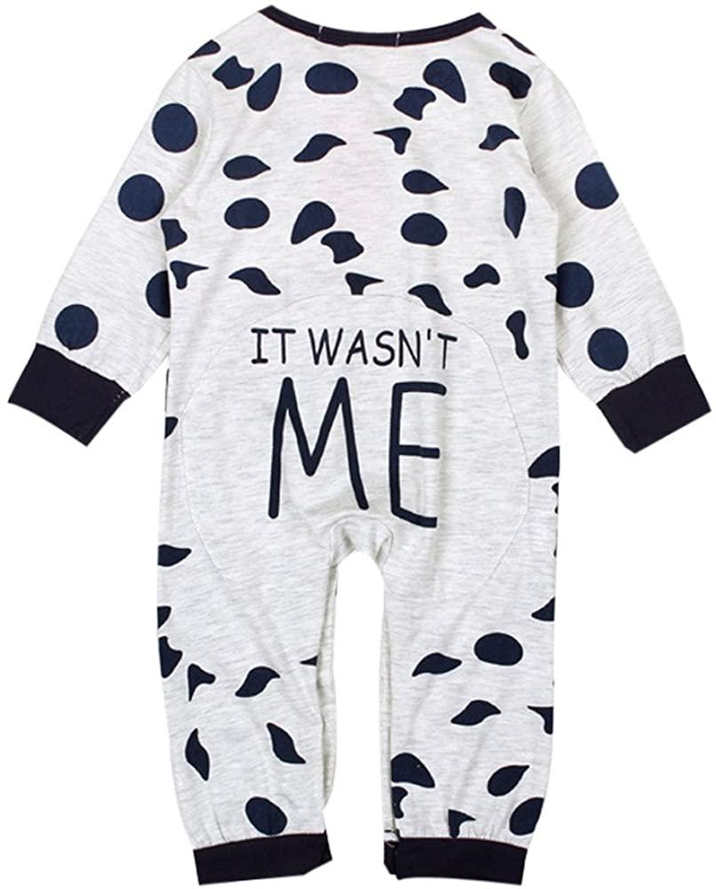 ZEFOTIM Unisex Baby Long-Sleeve Romper, 2019 Newborn Infant Baby Boys Girls Romper Jumpsuit Bodysuit Clothes Outfit