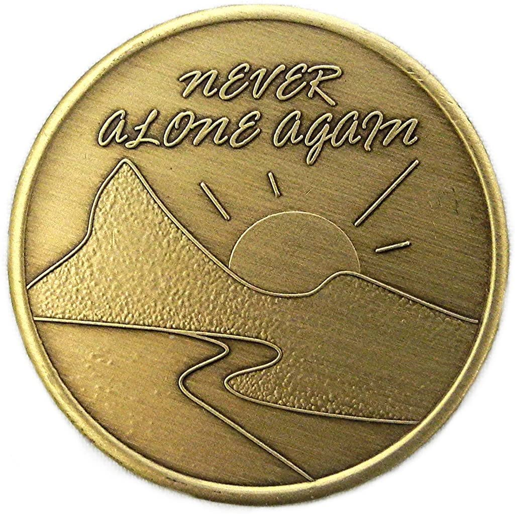 Never Alone Again- Bronze Medallion