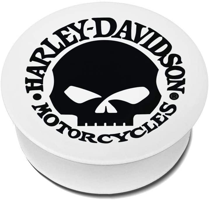 Chenjiaj Harley Davidson Phone Socket for Phones and Tablets Phone Holder Finger Kickstand Adjustable Mount Holder