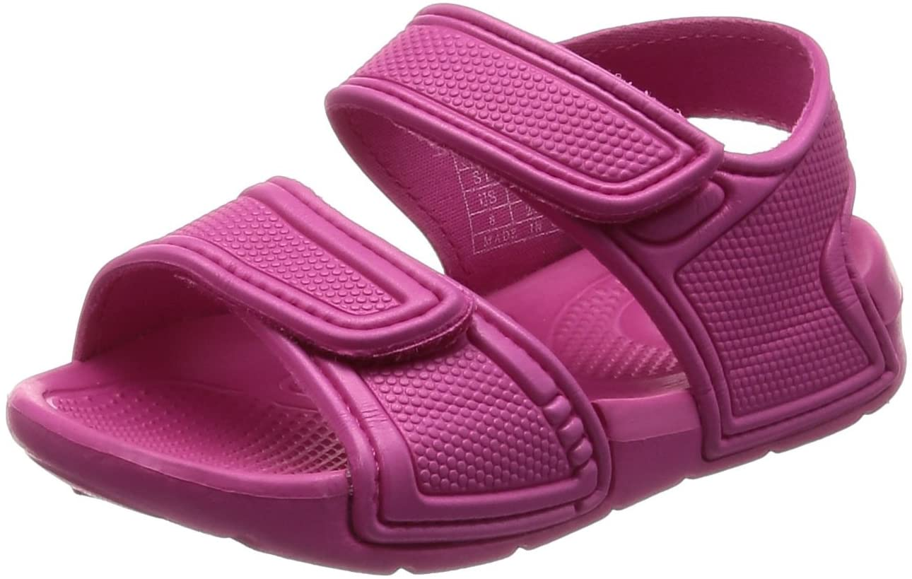 ALEADER 4562320451994 Velcro Baby Junior Kids Shoes Beach Sports Sandals Rose 215, one Size