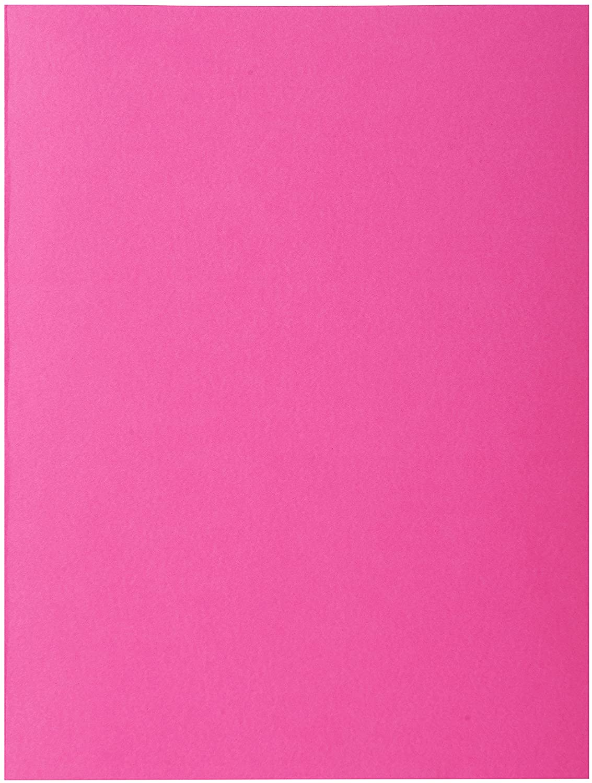 Exacompta Bahia A4 Square Cut Folder - Fuchsia Pink (Pack of 30)
