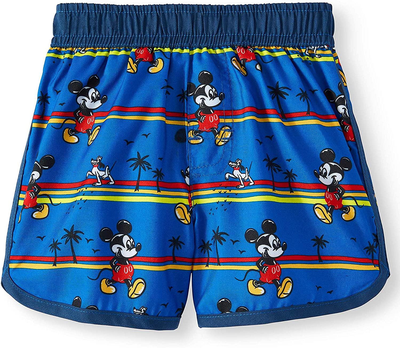 Infant Boys Disney Mickey Mouse Blue Swim Short Trunk