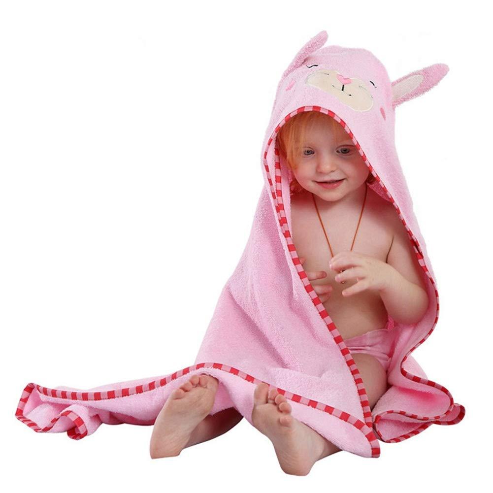 Fboraiz Large Baby Bath Towels with Hood 35x35