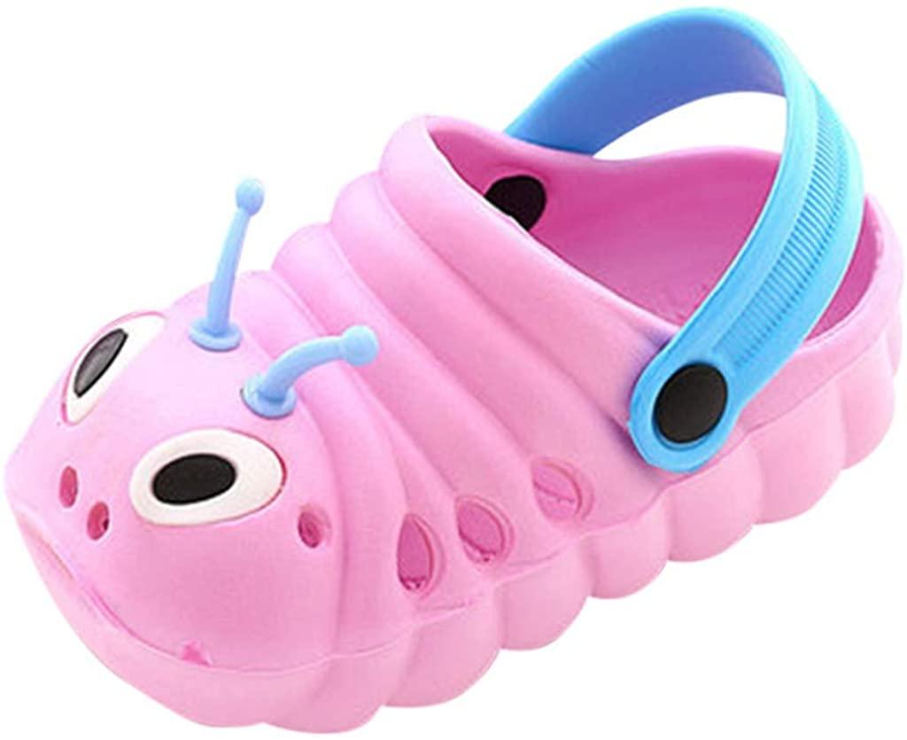 REYO 2020 Summer Toddler Baby Boys Girls Cute Cartoon Beach Sandals Slippers Non-Slip Flip Shoes,Big Sale