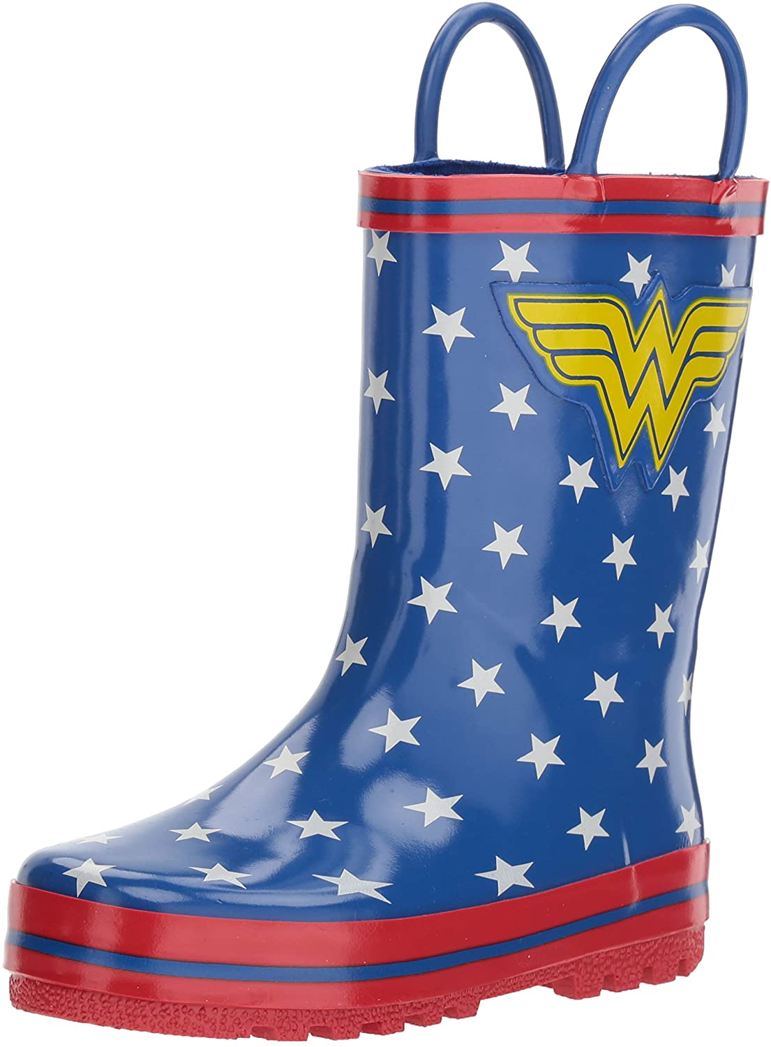 Favorite Characters Girl's Wonder Woman Rain Boot (Toddler/Little Kid)