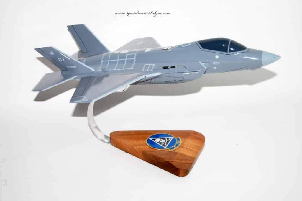 31st Test and Evaluation Squadron F-35 Model