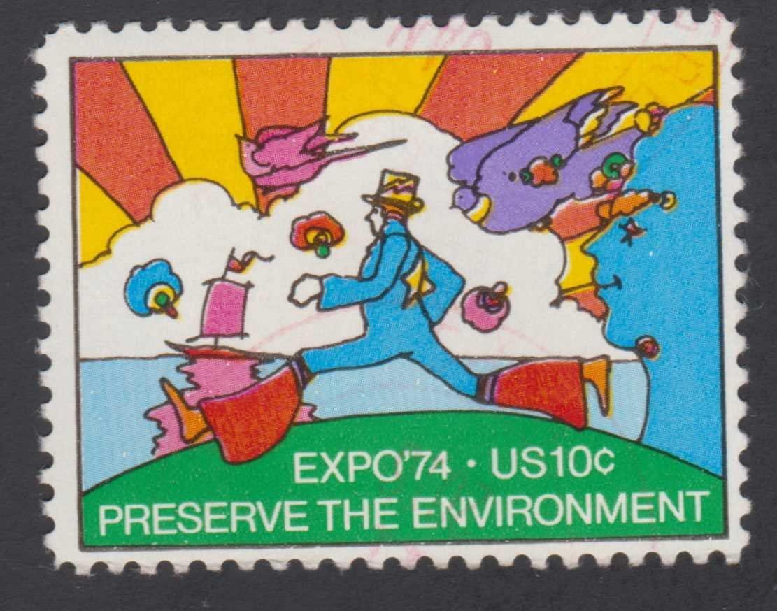 Stamp United States Scott 1527 Expo 74 Preserve The Environment MNH