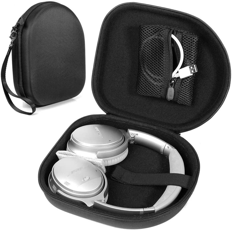 CaseSack Headphone Case for Sony WH-CH700N,HiFi Elite Super66; Parrot Zik 1.0, 2.0, 3; BeoPlay H2, H4, H6, H8, H9; Grado SR60e, SR80e, SR125e, SR325e; Master & Dynamic MH40, MH30; BOHM