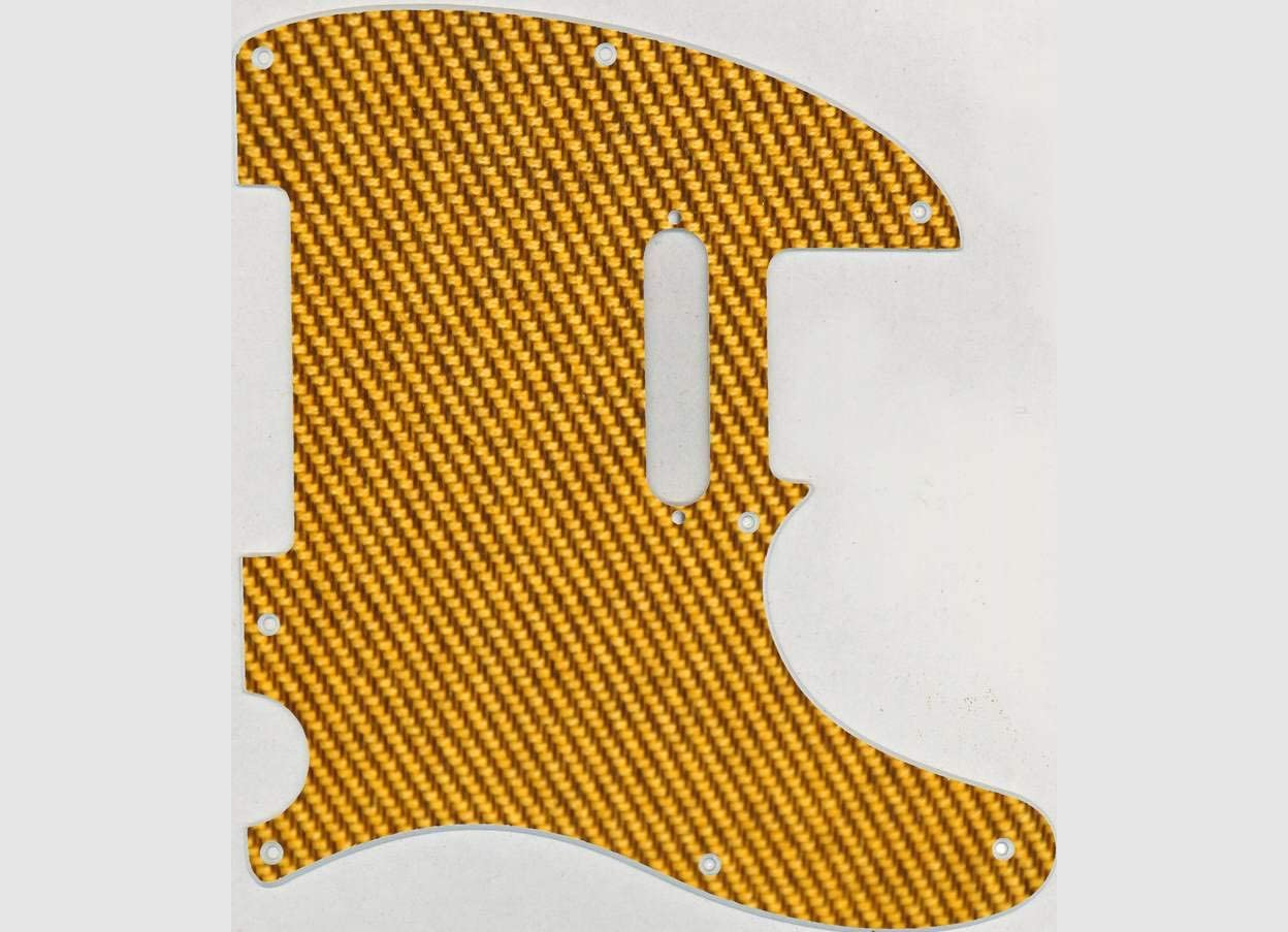 Custom Graphical Pickguard to fit Fender Tele Telecaster Classic Tweed