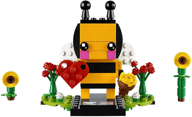 LEGO BrickHeadz Valentine's Bee 40270 Building Kit (140 Pieces)