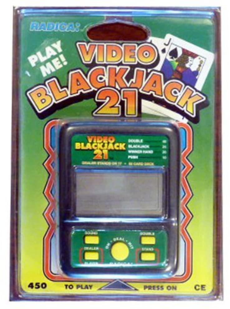 Radica Video Blackjack Model 450