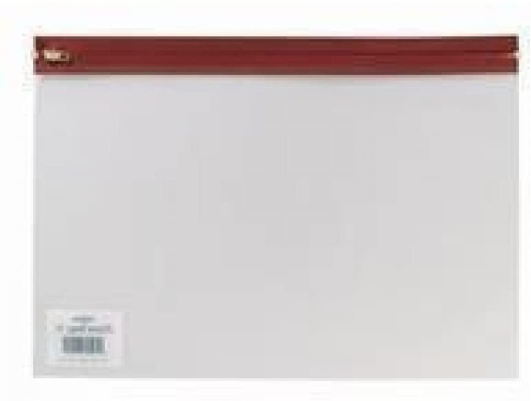 Snopake A4 Plus Zippa Bag - Red