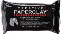 Creative Paperclay 8 Ounces White (2-Pack)