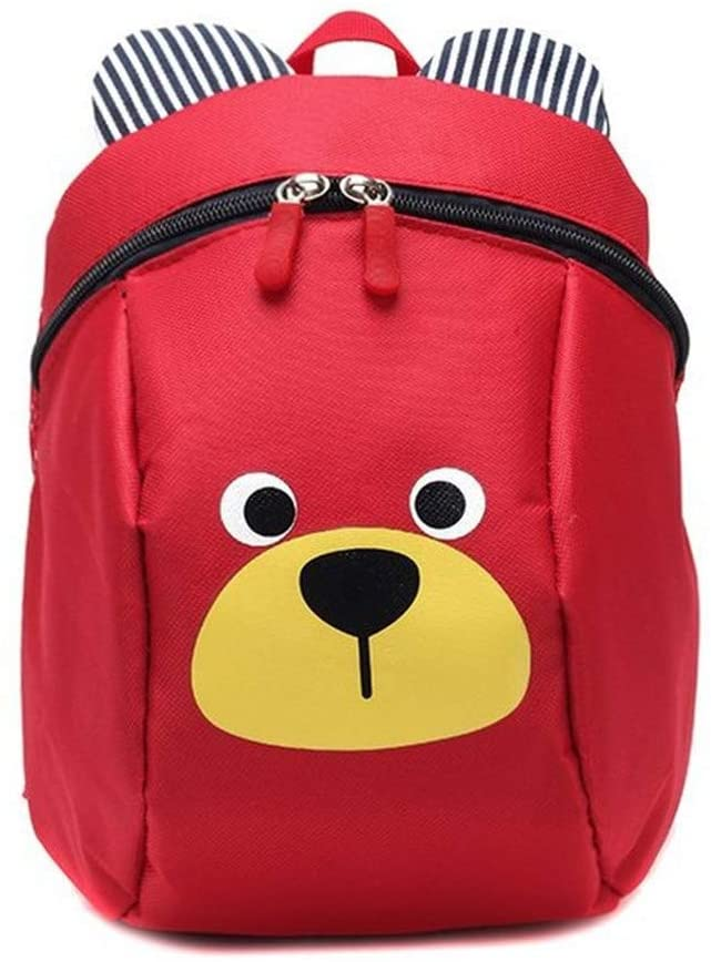 ACHICOO Children Cartoon Figure Anti Lost Backpack Safety Harness Leash Strap Bag for Walking Toddler Kids red
