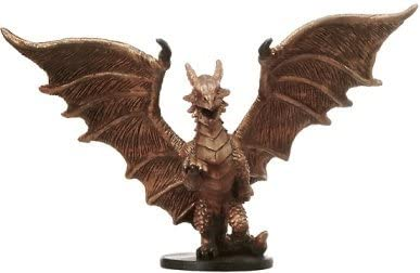 D & D Minis: Medium Copper Dragon # 20 - Blood War