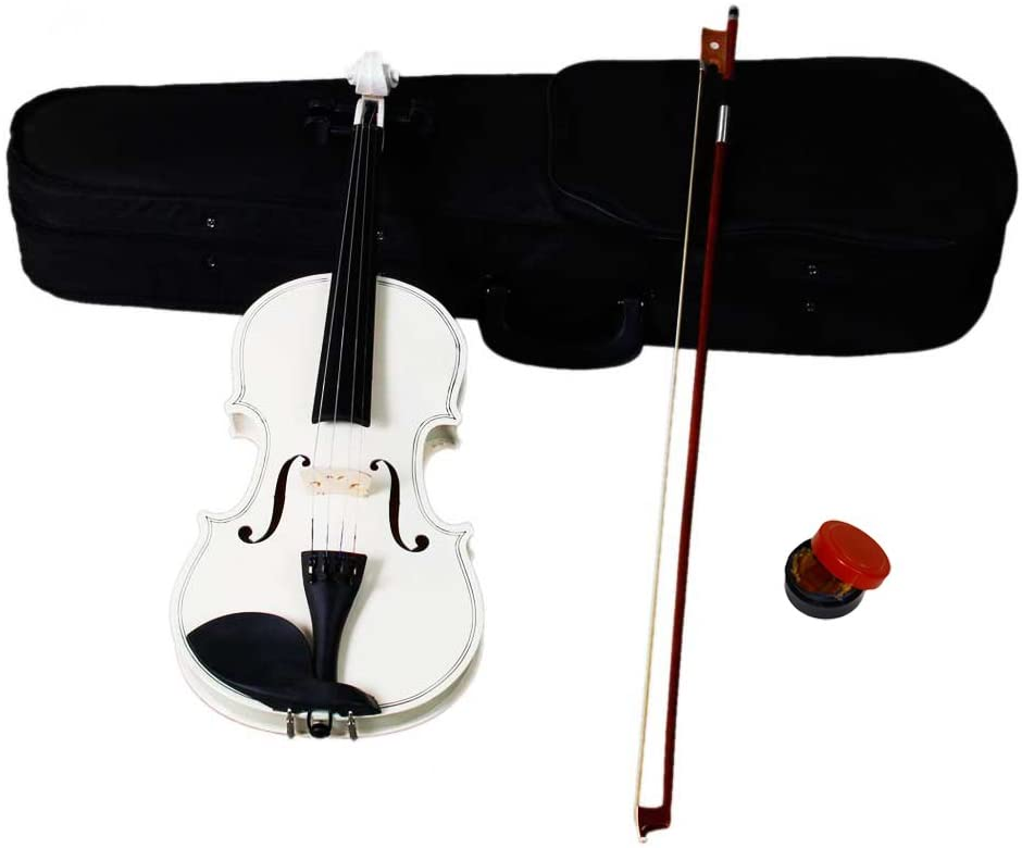Acoustic Violin 4/4 Full Size With Case and Bow Rosin Wood for Kids Beginners