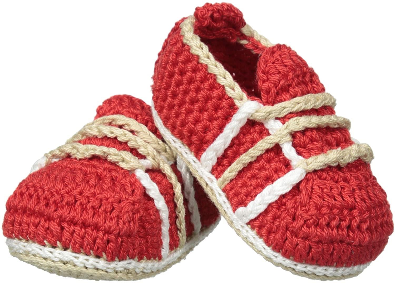 Jefferies Socks Baby Boys' Boy Shoe Crochet Bootie