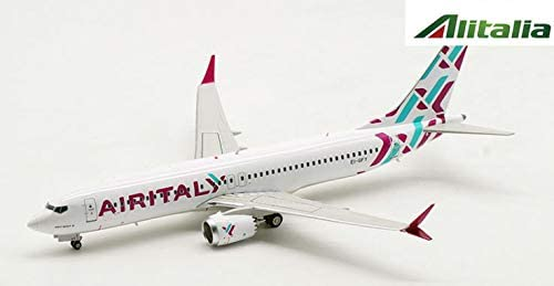 Inflight AIRITALY Boeing 737 8 MAX 1/200 diecast Plane Model Aircraft EI-GFY