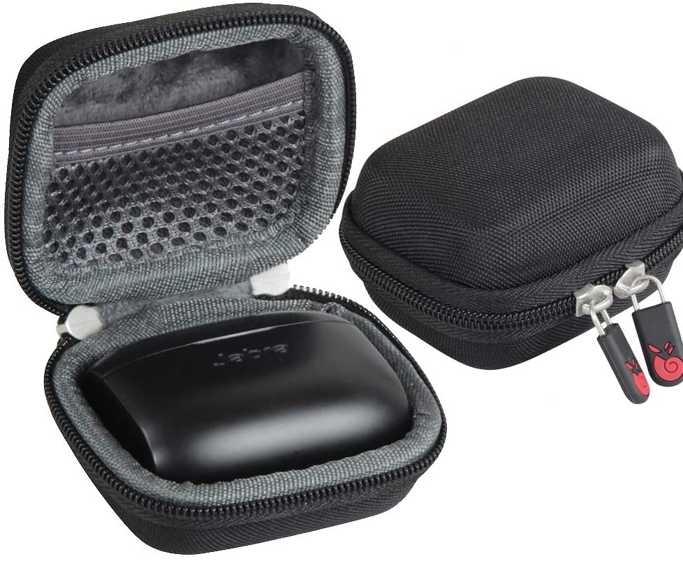 Hermitshell Travel Case for Jabra Elite Active 65t | Jabra Elite 65t / 75t Alexa Enabled True Wireless Sports Earbuds