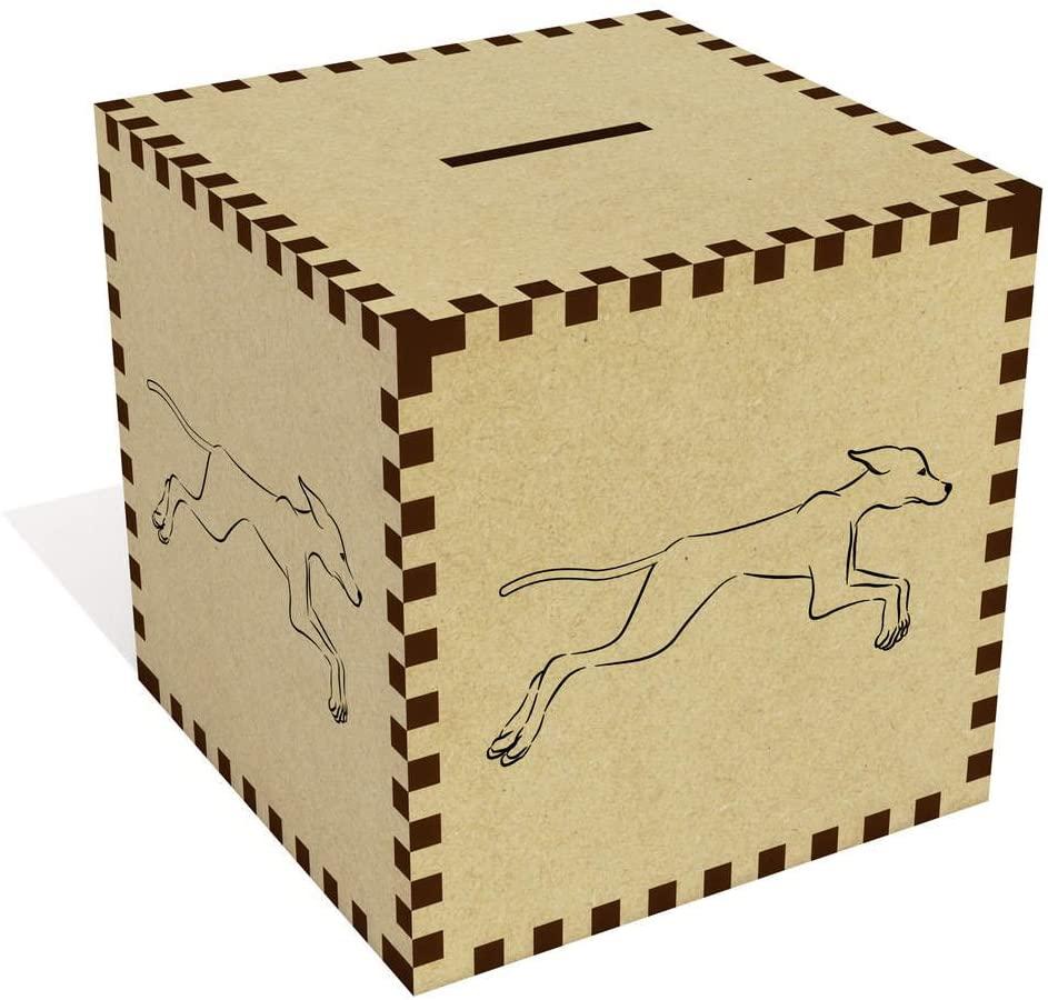 Azeeda Large Greyhound Money Box / Piggy Bank (MB00016364)