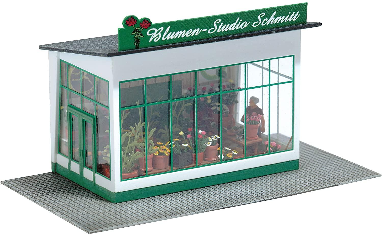 Busch 1049 Florist Set HO Scenery Scale Model Scenery