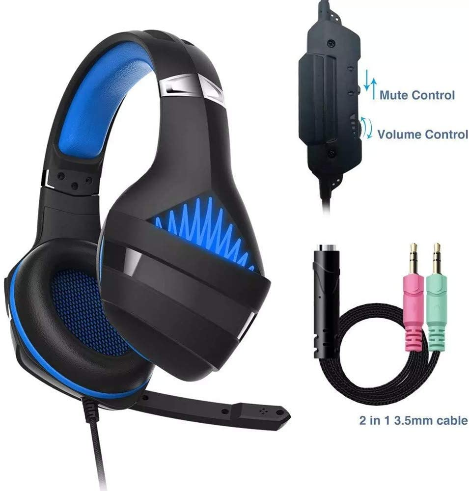 Comfortable Wearing Noise Isolating PS4 Gaming Headset