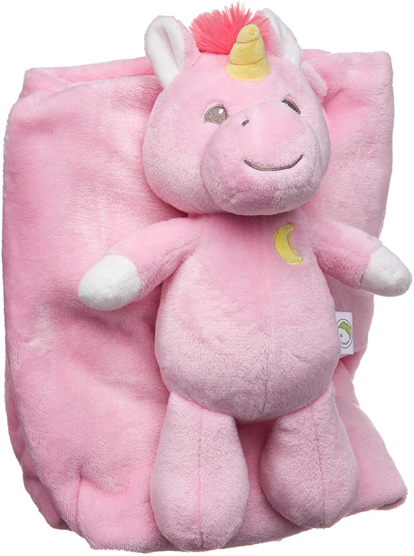 Animal Adventure   Cuddle Bundle   2-in-1 Blanket & Plush Bundle   Fantasy Unicorn, Pink