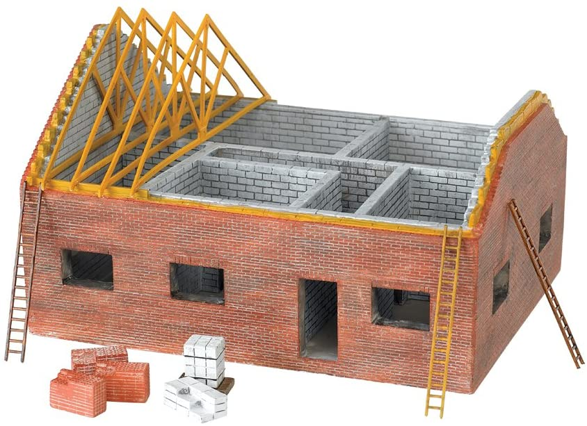 Bachmann Industries Scenescapes HO Scale Residential Building Site