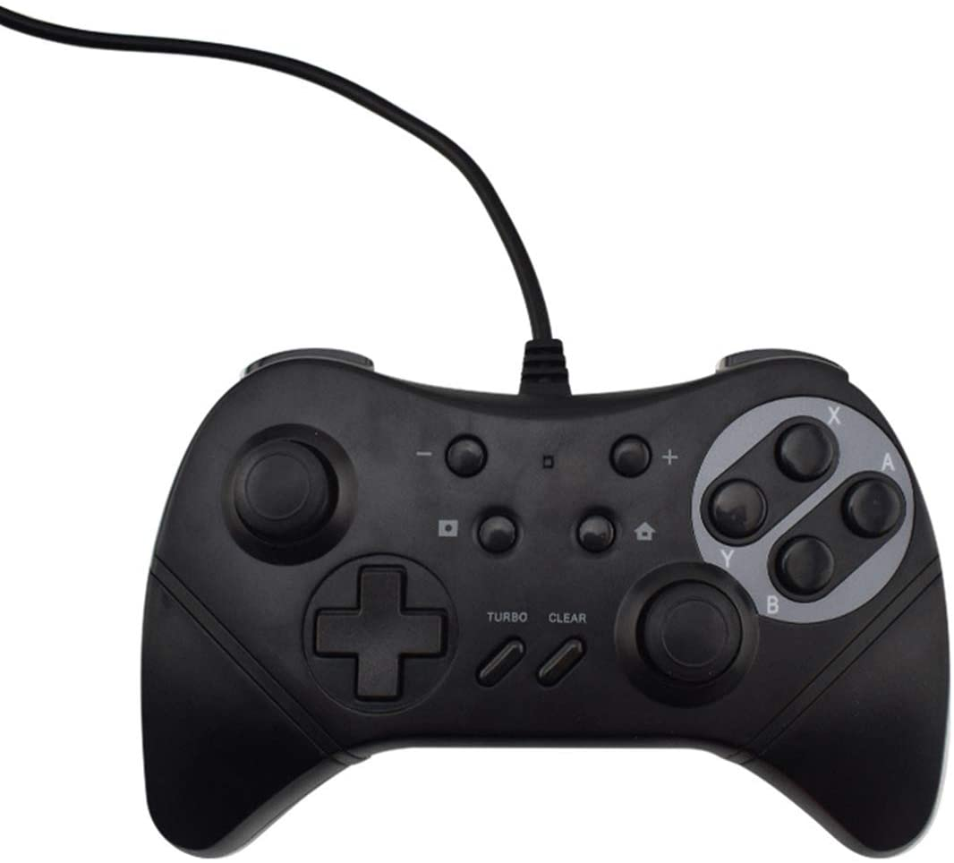 LJ2 Gamepad, USB Wired Gaming Controller Game Joysticks/for NS/PC/Compatible PC Windows XP/Win 7 / Win 8.1 / Win 10/NS