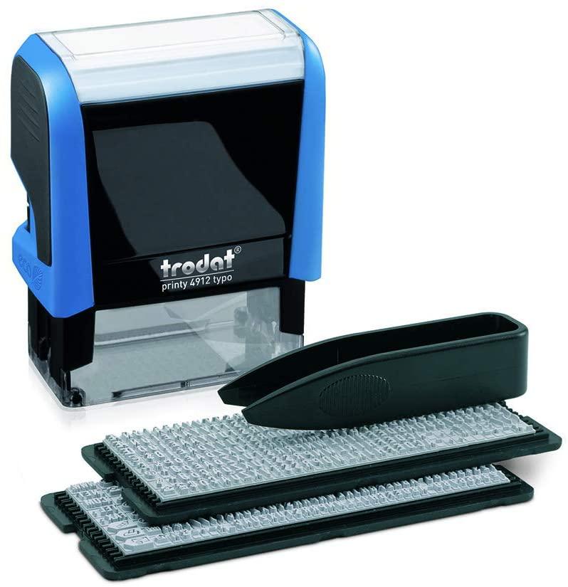 Trodat 4912 DIY Custom Rubber Stamp, Impression Size 3/4