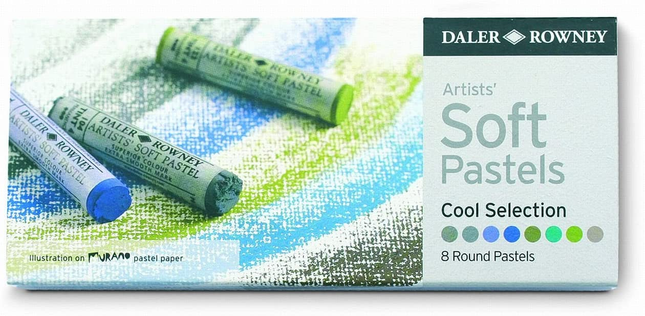Daler Rowney Cool Soft Pastel Set (Pack of 8)