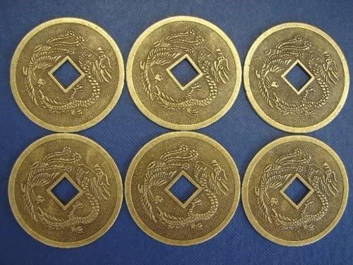 6 of Dragon Phoenix Coins