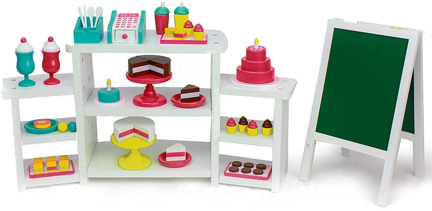 Playtime by Eimmie Doll Food & Bakery Set - Doll Accessories - Bakery Toys for 18 Inch Doll