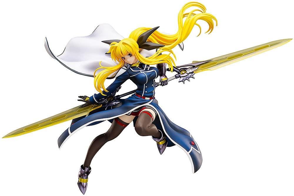 FREEing Magical Girl Lyrical Nanoha Force: Fate T. Harlaown 1:8 Scale PVC Figure