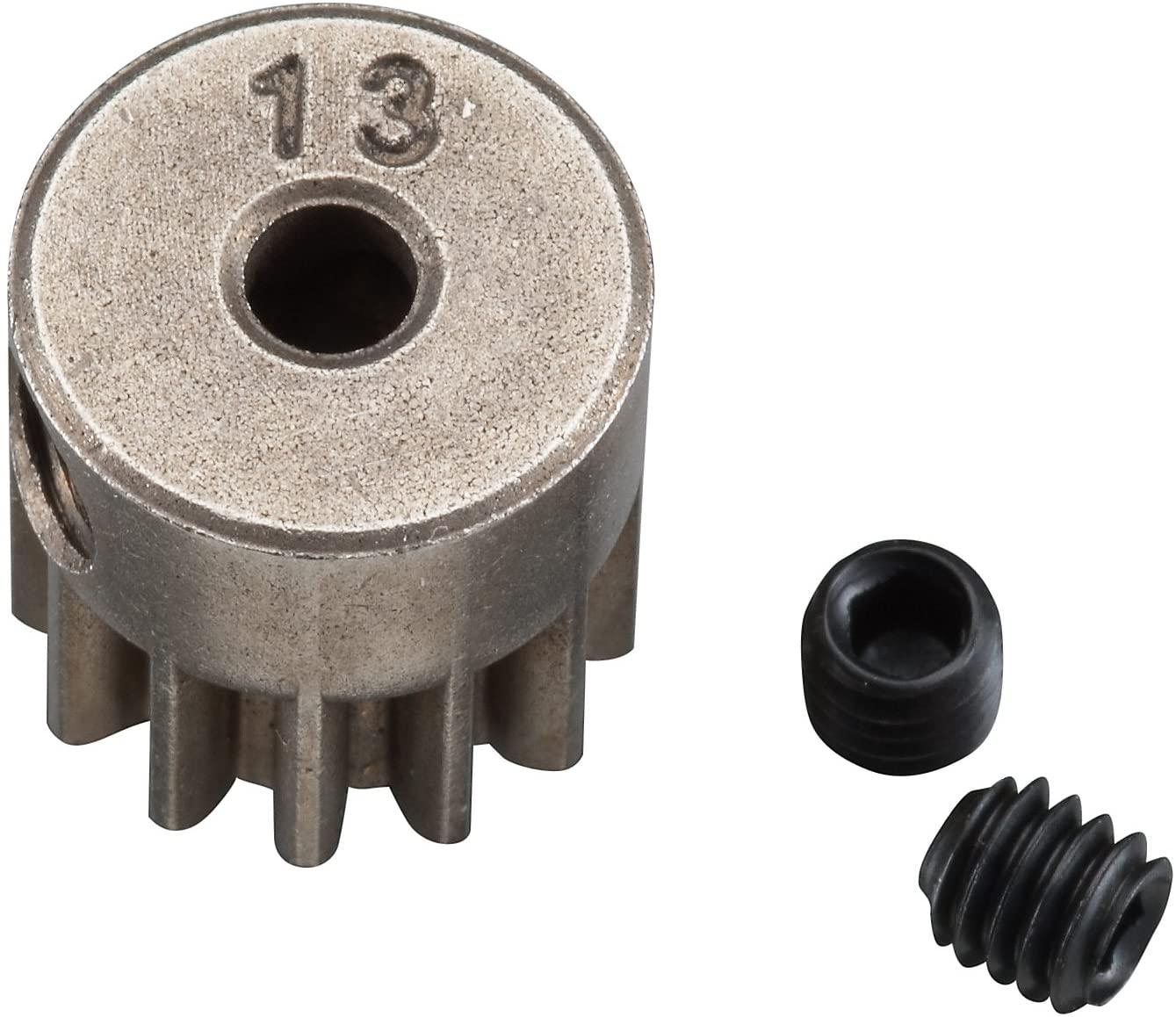 Axial AX30724 32P 13T Pinion Gear, Steel Motor Shaft, 3mm