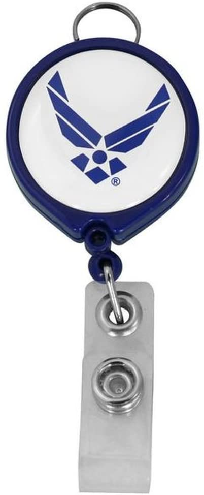 Air Force Retractable Badge Holder