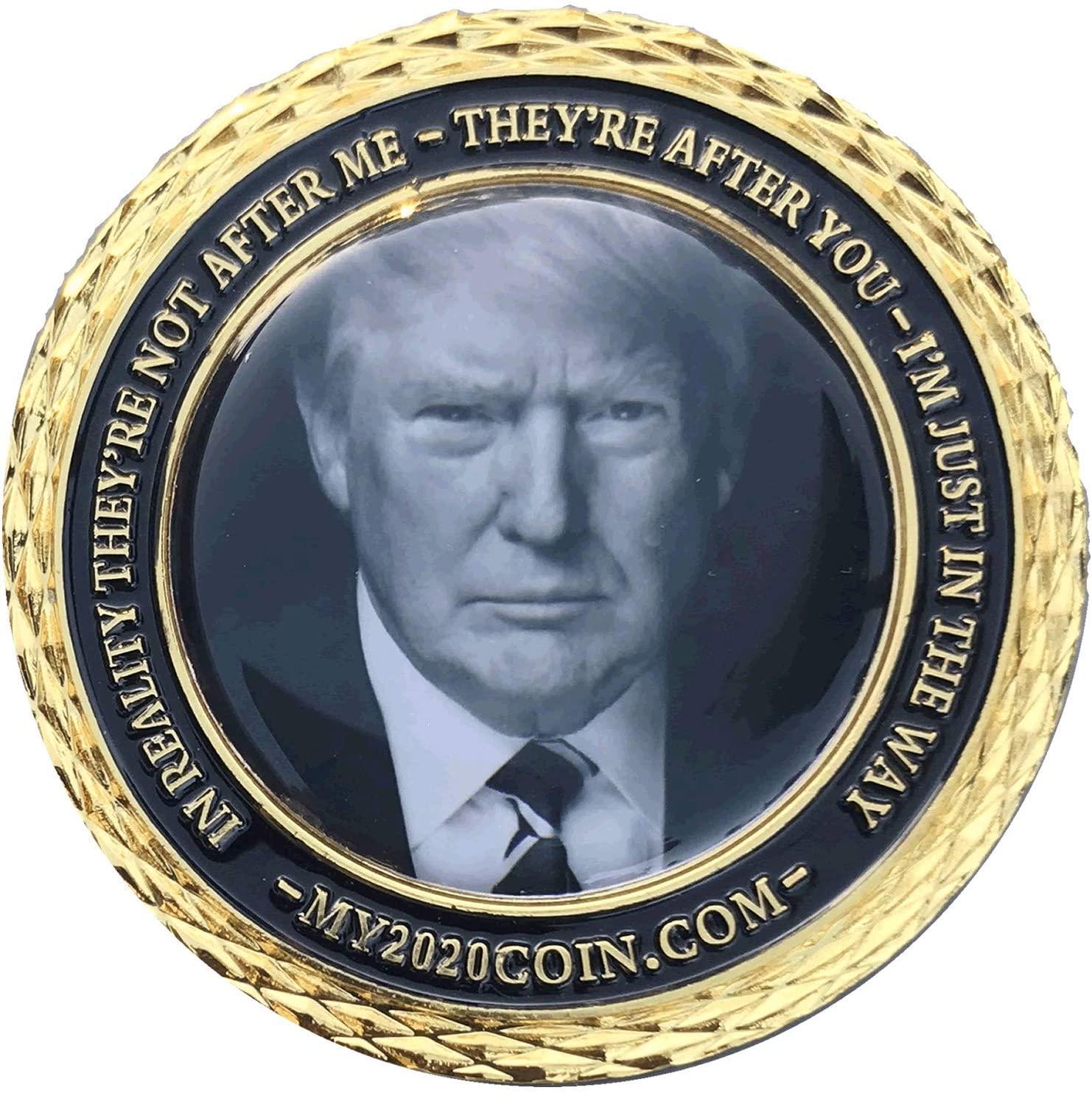 MAGA: Trump 2020 Keepsake Coins -3 Pack
