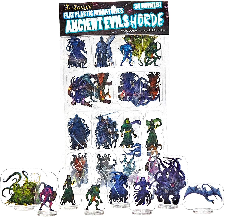 Arcknight Flat Plastic Miniatures: Ancient Evils Horde
