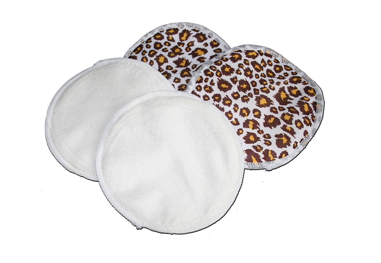 Waterproof Bamboo Nursing Pads - Cheetah Print