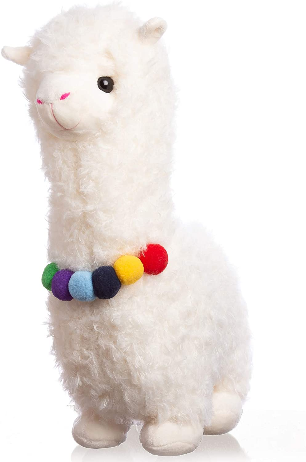 Llama Stuffed Animal - Llama Gifts for Women - Party Alpaca Pillow with LED Color-Changing Lights