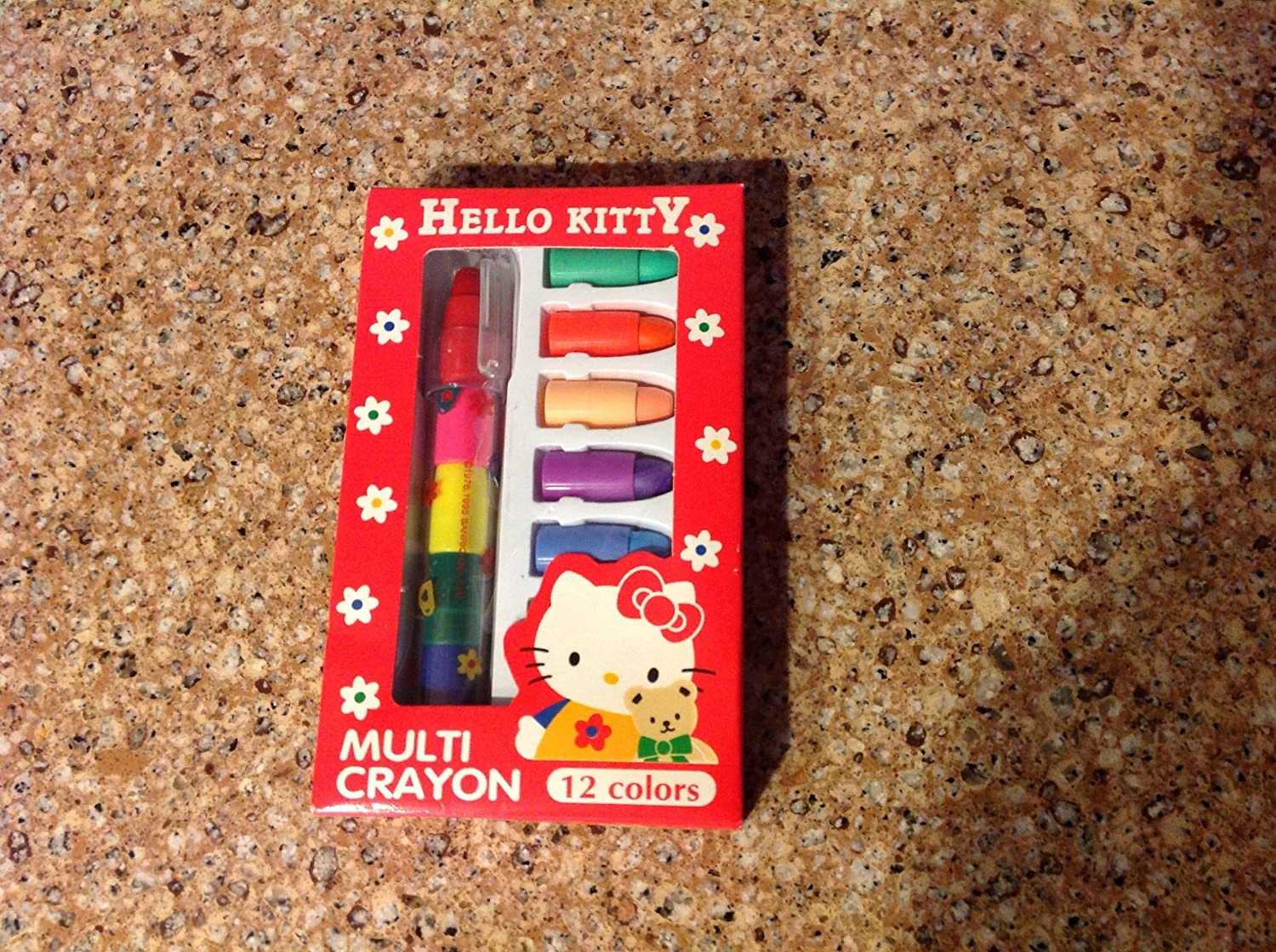 Hello Kitty Multi-Crayon Set! 12 Colors! Not Sold in Stores!