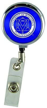 LXG, Inc. University of Wisconsin-Platteville-Retractable Badge Reel-Blue